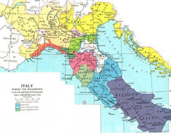 the impact of geography on the italian rennaisance The beginnings: northern italy, renaissance in europe explore and discover new ways of thinking and doing things during the renaissance italy's geography.
